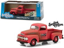"1:43 Scale 1952 Ford F-1 Pickup Red ""Sanford & Son"" - GL86521"