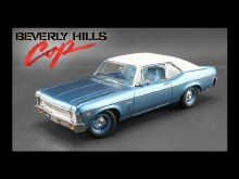 1:18 Scale Beverly Hills Cop Chevrolet Nova SS Coupe '70 - GMP18802
