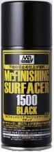 Mr.Finishing Surfacer 1500 Black Spray 170ml - GN B526