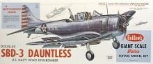 Republic SBD-3 Daultless Balsa Kit - 1003
