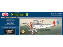 "French Nieuport II 24"" Wingspan Balsa Kit - 203LC"