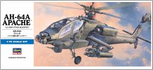 1:72 Scale AH-64 Apache Longbow U.S. Army Attack Helicopter - 00536