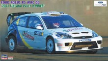 1:24 Scale Ford Focus RS WRC 03 '2003 Finland Rally Winner' - H20380