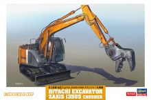 1:35 Scale Hitachi Excavator Zaxis 135US Crusher - H66103