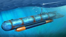 1:35 Scale German Molch Midget Submarine - HB80170
