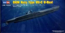 1:350 Scale DKM Navy Type VII-C U-Boat - HB83505