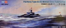 1:350 Scale PLA Navy Type 033G Wuhan Class Submarine - HB83516