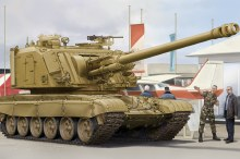 1:35 Scale GCT 155mm AU-F1 SPH Based on T-72 - HB83835