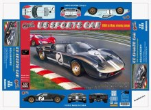 1:12 Scale US Sports Car 24 Hour Endurance Racing Car - MAG00019