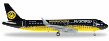 1:200 Scale Eurowings Airbus A320 BVB Mannschaftsairbus - HE558167