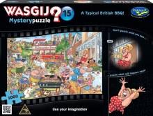 Wasgij? Mystery 15 A Typical British BBQ 1000pc - HOL771257