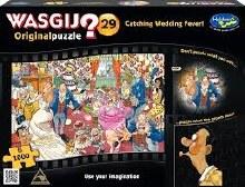 Wasgij? Original 29 Catching Wedding Fever 1000pc - HOL771462