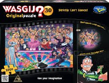 Wasgij? Original 30 Strictly Can't Dance! 1000pc - HOL771615
