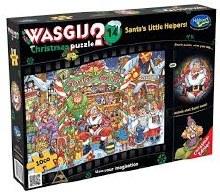 Wasgij? Christmas 14 Santa's Little Helpers! 1000pc - HOL771752