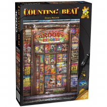 Counting the Beat: Groovy Records 1000pc - HOL772797