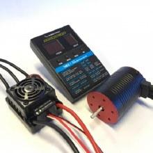 Waterproof 3652 3000kV Brushless Motor & 50A ESC w/Programming Card (540 Size Brushed Motor Upgrade) - HWAP50BL3000