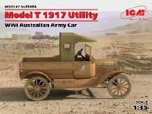 1:35 Scale Model T 1917 Utility Australian Army Vehicle - 35664