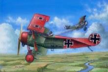 1:24 Scale Fokker Dr.I - ILK62403