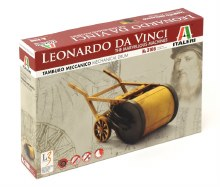 Leonardo Da Vinci Mechanical Drum - 3106
