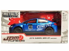 1:32 Scale JDM Tuners 2016 Subaru WRX STI Widebody - JA99118