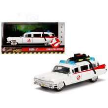 1:24 Scale 1959 Cadillac Ambulance Ecto-1 Ghostbusters - JA99731