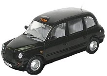 1:43 Scale London Taxi - LD003