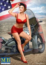 1:24 Scale Pin-up 1 Marilyn - 24001