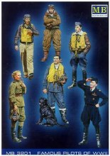 1:32 Scale Famous Pilots of WWII Kit No.1 - 3201