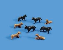 OO/HO Scale Dogs - 5102
