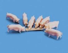 OO/HO Scale Pigs & Trough - 5108