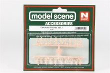 N Scale Assorted Unpainted Figures Set A (20) - 5156
