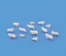 N Scale Sheep (14) - 5177