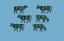 N Scale Cows (6) - 5179