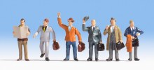 HO Scale Business Travellers - 15226