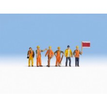 HO Scale Track Workers - 15277