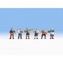 HO Scale Group Of Regulars - 15558