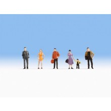 HO Scale Pedestrians - 18101