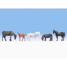 HO Scale Horses - 18215