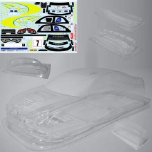 Clear Body Impreza w/decal Tomahawk
