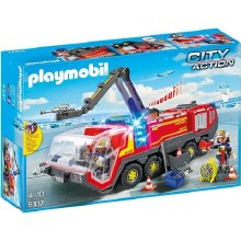 Airport Fire Engine With Lights And Sound - PMB5337