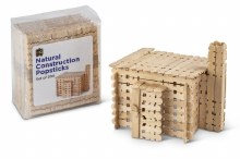 Construction Popsticks Natural (300)