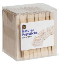 Popsticks Natural (500)