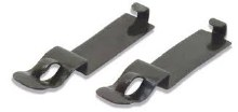 N Scale Setrack Code 80 Power Connecting Clips - ST9
