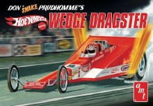 "1:25 Scale Don ""Snake"" Prudhomme Wedge Dragster ""Hot Wheels"" - AMT1049"