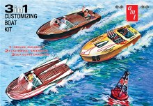 1:25 Scale 3-in-1 Customizing Boat - AMT1056