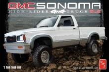 1:20 Scale 1993 GMC Sonoma High-Rider 4x4 Truck SLE - AMT1057