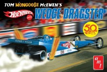 "1:25 Scale Tom ""Mongoose"" McEwen Wedge Dragster ""Hot Wheels"" - AMT1069"