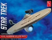 1:537 Scale Star Trek USS Enterprise NCC-1701 Refit - AMT1080
