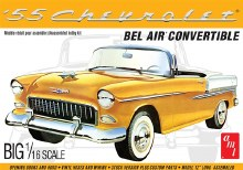 1:16 Scale 1955 Chevy Bel Air Convertible - AMT1134