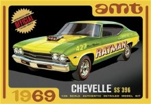 1:25 Scale 1969 Chevelle SS 396 - AMT1138
